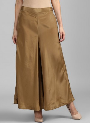 Golden Flared Culottes