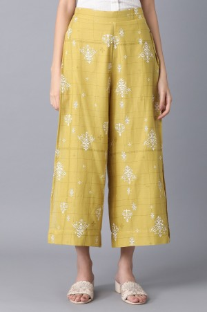 Olive Straight Culottes
